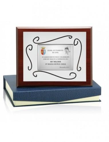 Placa De Resina Metalizada 106-5561
