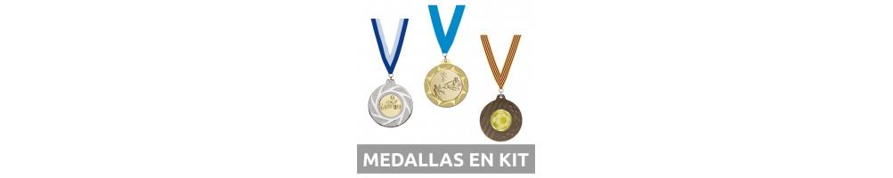 Medallas en kit