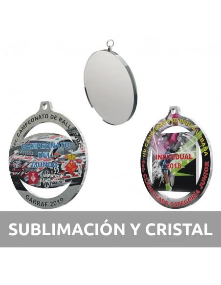 Sublimación y cristal